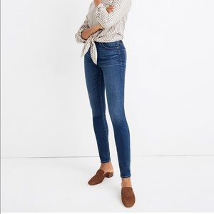 Petite Curvy High-Rise Skinny Jeans in Hayes Wash
